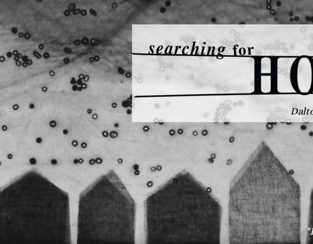 Searching for Home, Dalton Gallery