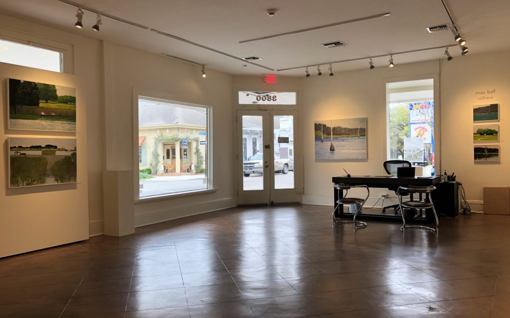 Cole Pratt Gallery-New Orleans, interior view of front room